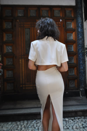 The Skirt in Cream