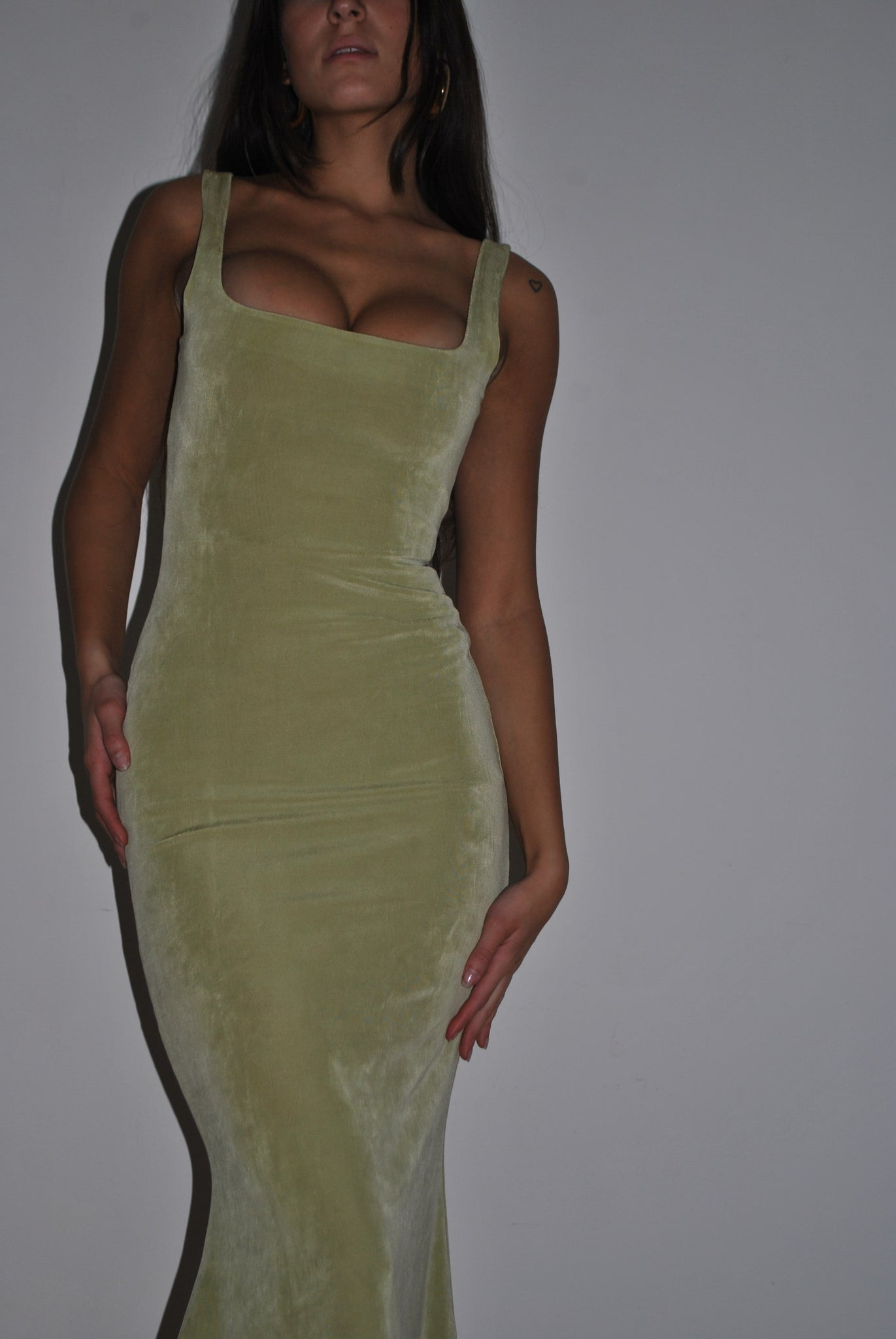Supermodel Dress Pistachio