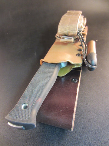 Fallkniven A1 Pro Survival Sheath - Coyote Tan