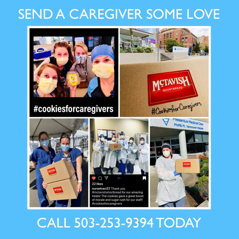 #CookiesForCaregivers Care Package