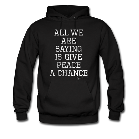 All We Are Saying Hoodie (Black)