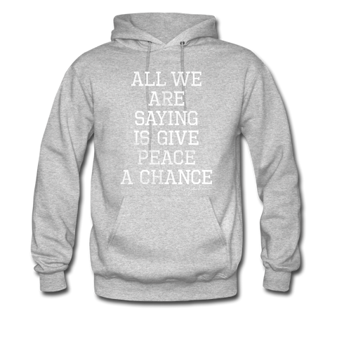 All We Are Saying Hoodie (Gray)