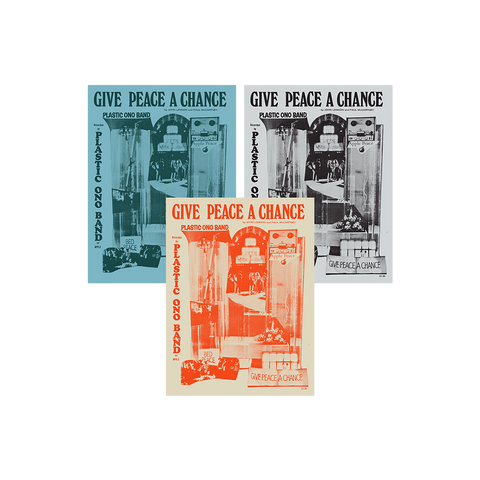 Give Peace a Chance Litho