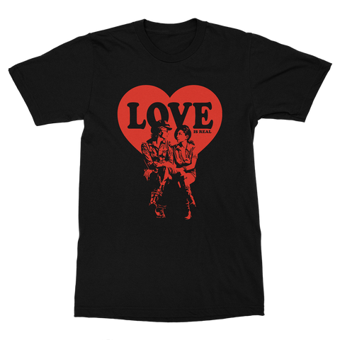 Love is Real T-Shirt (Black)