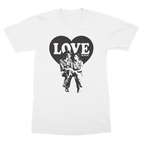 Love Is Real T-Shirt (White)