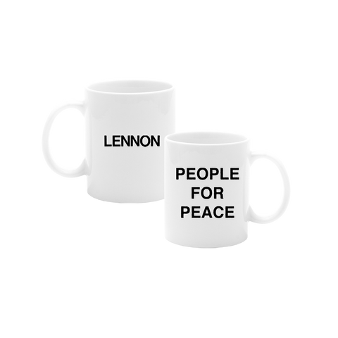 People For Peace Mug