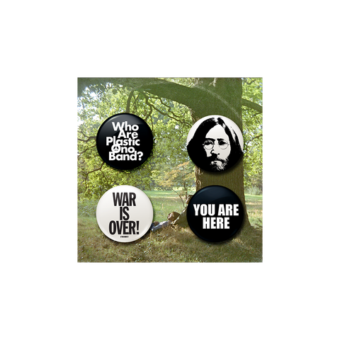 Plastic Ono Band Button Set