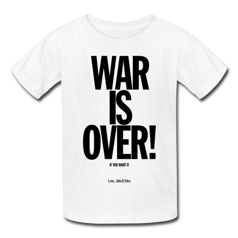 War is Over T-Shirt (Toddler)