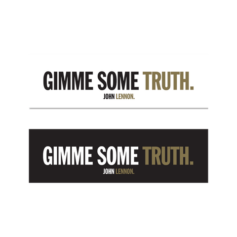Gimme Some Truth Sticker Set