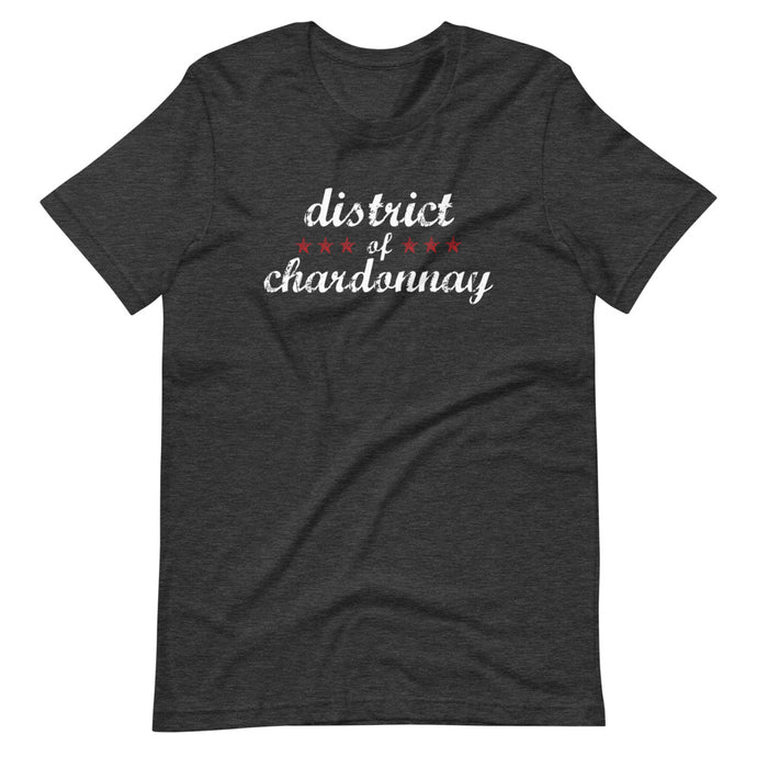 Phrase / Words - District of Chardonnay (Multiple Color Options)