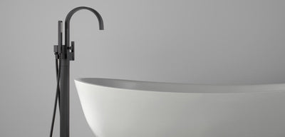 Bathtub Filler: BF-107 Matte Black