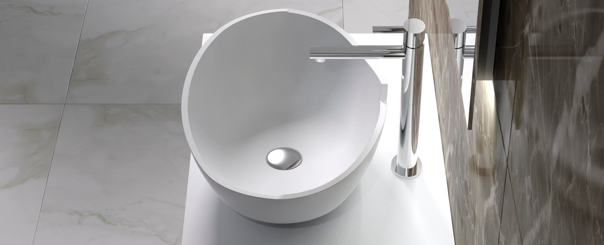 CW-106 ADM Bathroom Countertop Sink