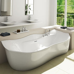 All you need to know about freestanding bathtubs adm for Pros and cons of acrylic bathtubs