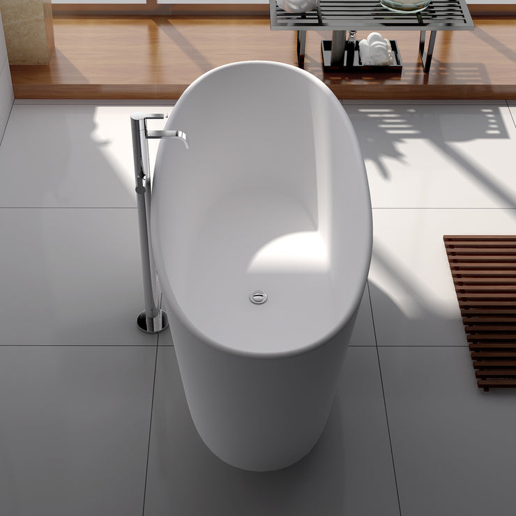 SW-102 Round Freestanding Bathtub Shown