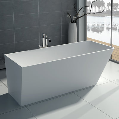 SW-134 Rectangular Freestanding Bathtub Shown