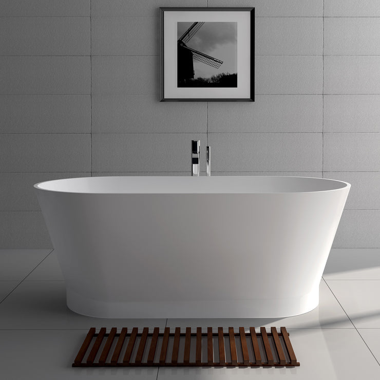 SW-120 Oval Freestanding Bathtub Shown