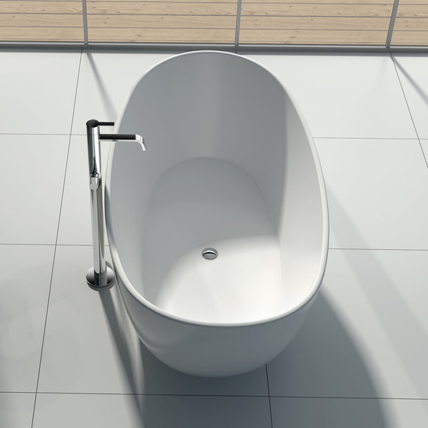 SW-135 Curved Freestanding Bathtub Shown