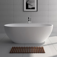 SW-110M Oval Freestanding Bathtub Shown