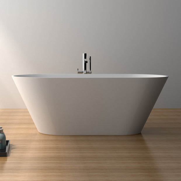 SW-107S Oval Freestanding Bathtub Shown