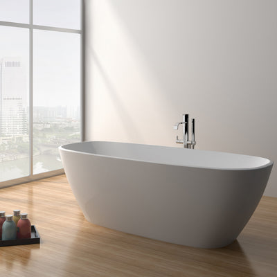 SW-174 Round Freestanding Bathtub shown