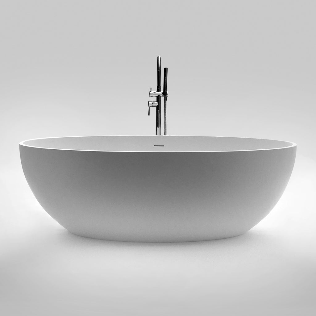 SW-154 Oval Freestanding Bathtub Shown