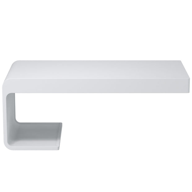 AW-101 Wall Mounted Countertop Organizer in White Finish Shown