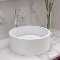 CW-103 Round Countertop Vessel Sink Shown