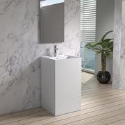 DW-122 Square Freestanding Sink Shown