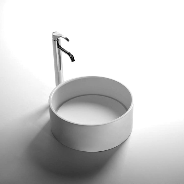 DW-177 Round Freestanding Sink Shown