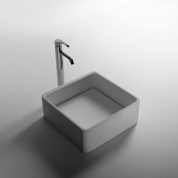 DW-179 Square Freestanding Sink Shown