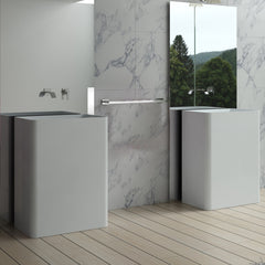 DW-105 Rectangular Freestanding Sink Shown