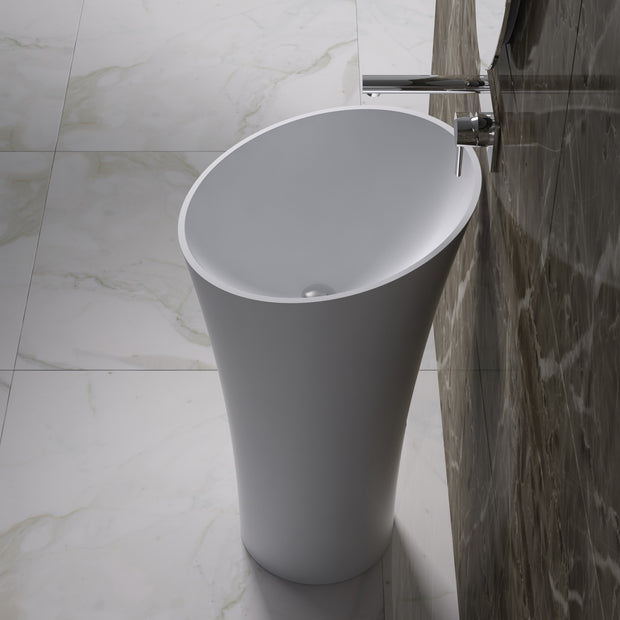 DW-106 Round Freestanding Sink Shown