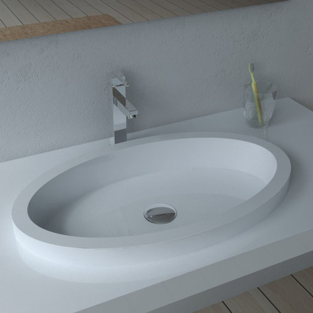 DW-125 Rectangular Wall Mounted Sink Shown
