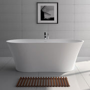 SW-101 Edged Freestanding Bathtub Shown