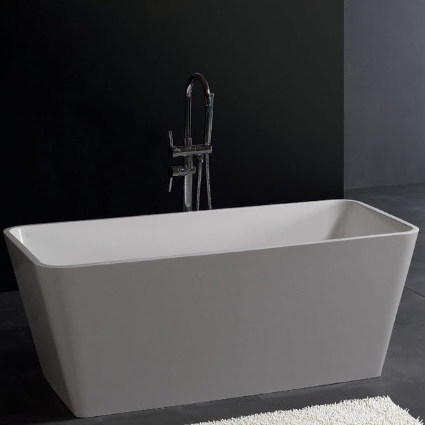 SW-103L Rectangular Freestanding Bathtub Shown