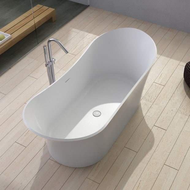 SW-140 Round Freestanding Bathtub Shown