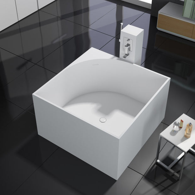 SW-148 Square Freestanding Bathtub Shown