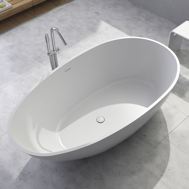 SW-149 Oval Freestanding Bathtub Shown