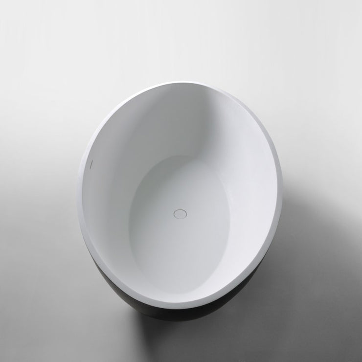 SW-151B Curved Freestanding Bathtub Shown