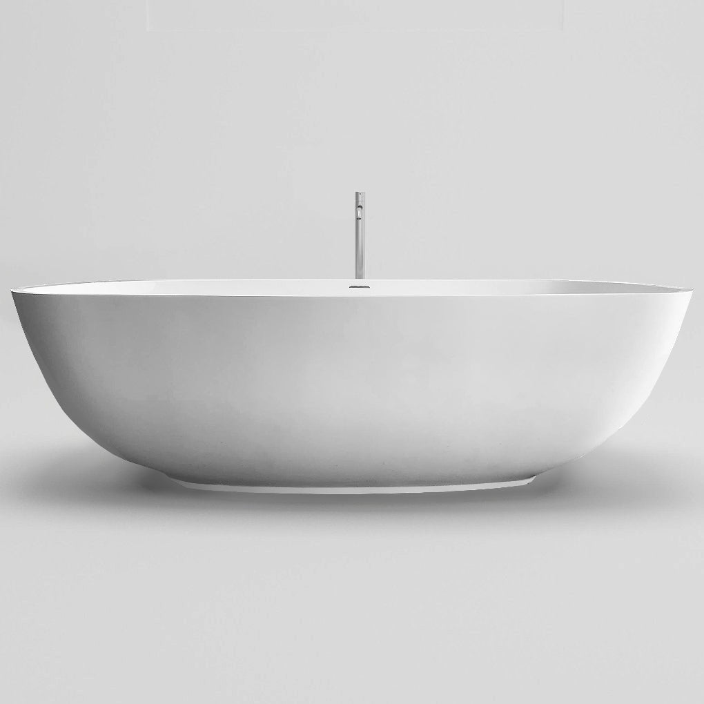 SW-152 Oval Freestanding Bathtub Shown