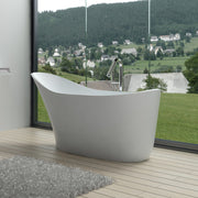 SW-112 Slippered Freestanding Bathtub Shown