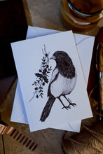 Load image into Gallery viewer, Magpie Greeting Card