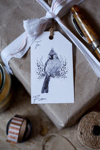 9 Illustrated Holiday Gift Tags