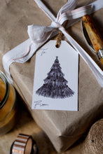 Load image into Gallery viewer, 9 Illustrated Holiday Gift Tags