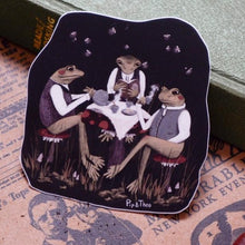 Load image into Gallery viewer, Midnight Tea Party Vinyl Sticker