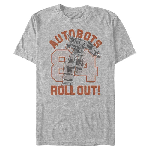 Autobots Rollout! - Transformers Heather Grey Tee-IGN Store