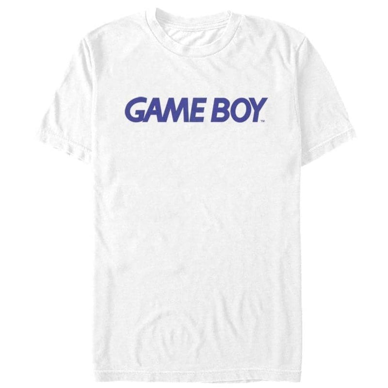Classic Game Boy Logo - Nintendo T-Shirt, White