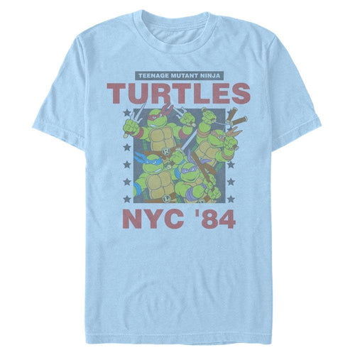 NYC '84 Celebration - Teenage Mutant Ninja Turtles Light Blue T-Shirt