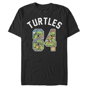 Turtles 1984 Varsity - TMNT Black T-Shirt