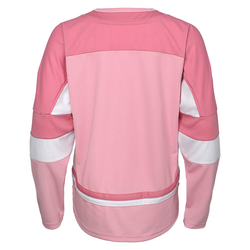 Vegas Golden Knights Girls Fashion Jersey - Pink - VegasTeamStore